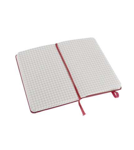 Moleskine Large Squared Magenta Hard - Men's Online Shopping in Singapore | The Assembly Store - 2