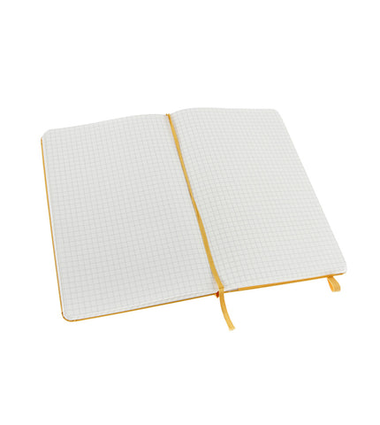 Moleskine Large Squared Orange Yellow Hard - Men's Online Shopping in Singapore | The Assembly Store - 2