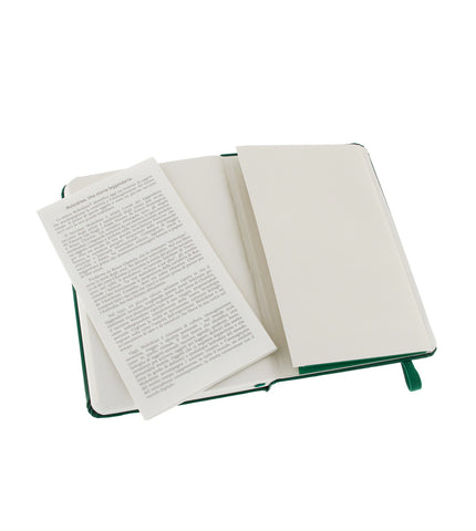 Moleskine Large Squared Ox Green Hard - Men's Online Shopping in Singapore | The Assembly Store - 3