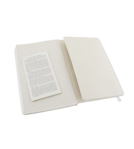 Moleskine Large Squared White Hard - Men's Online Shopping in Singapore | The Assembly Store - 3