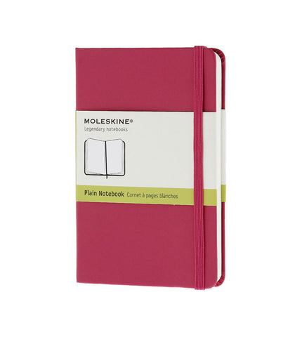 Moleskine Pocket Plain Magenta Hard - Men's Online Shopping in Singapore | The Assembly Store - 1