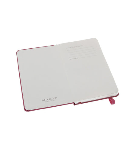 Moleskine Pocket Plain Magenta Hard - Men's Online Shopping in Singapore | The Assembly Store - 4