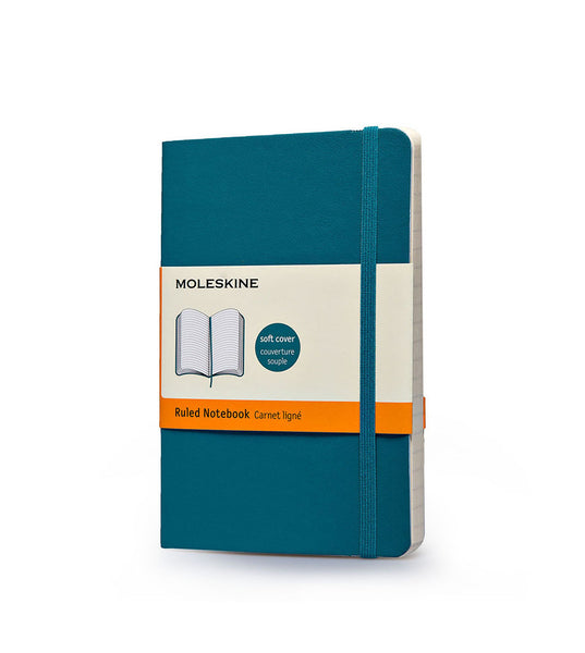 Moleskine Pocket Ruled Blue Soft - Men's Online Shopping in Singapore | The Assembly Store - 1