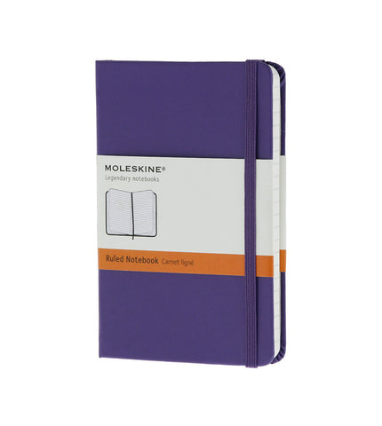 Moleskine Pocket Ruled Brilliant Violet Hard - Men's Online Shopping in Singapore | The Assembly Store - 1