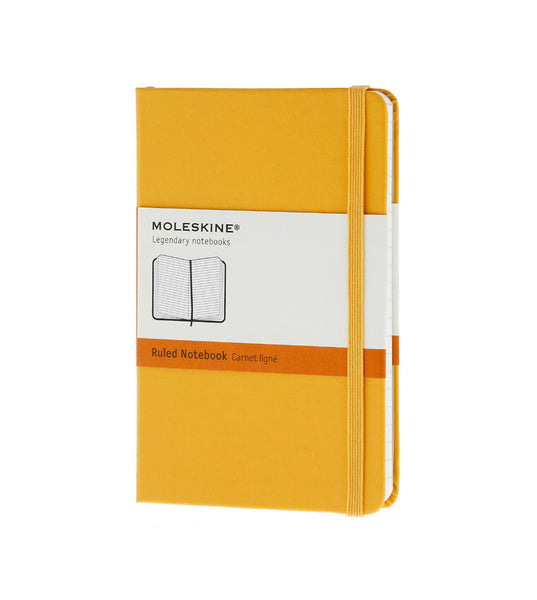 Moleskine Pocket Ruled Orange Yellow Hard - Men's Online Shopping in Singapore | The Assembly Store - 1