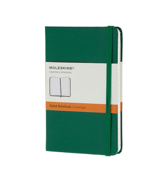 Moleskine Pocket Ruled Ox Green Hard - Men's Online Shopping in Singapore | The Assembly Store - 1