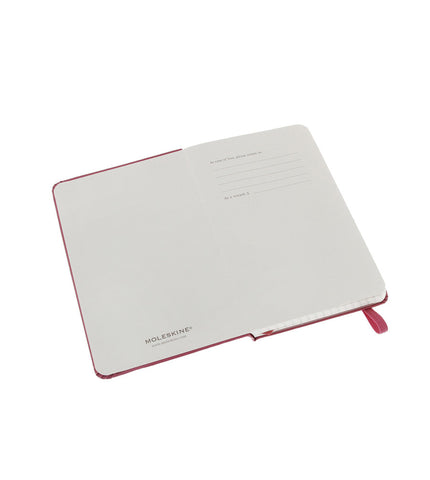 Moleskine Pocket Squared Magenta Hard - Men's Online Shopping in Singapore | The Assembly Store - 3