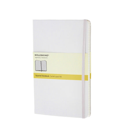 Moleskine Pocket Squared White Hard - Men's Online Shopping in Singapore | The Assembly Store - 1