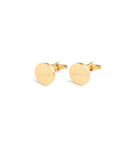 Brass Cufflinks