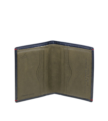 Gnome & Bow Brighton Card Wallet Deep Sea Blue - Men's Online Shopping in Singapore | The Assembly Store - 2
