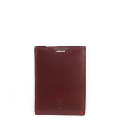 Gnome & Bow Fir Card Sleeve Oxblood - Men's Online Shopping in Singapore | The Assembly Store - 2