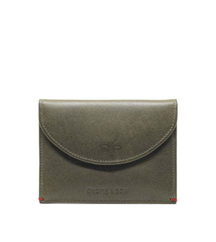 Gnome & Bow Leicester Coin Case Jungle Green - Men's Online Shopping in Singapore | The Assembly Store - 3