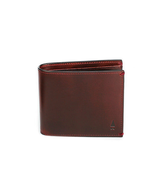 Gnome & Bow Linden Coin Billfold Oxblood - Men's Online Shopping in Singapore | The Assembly Store - 1
