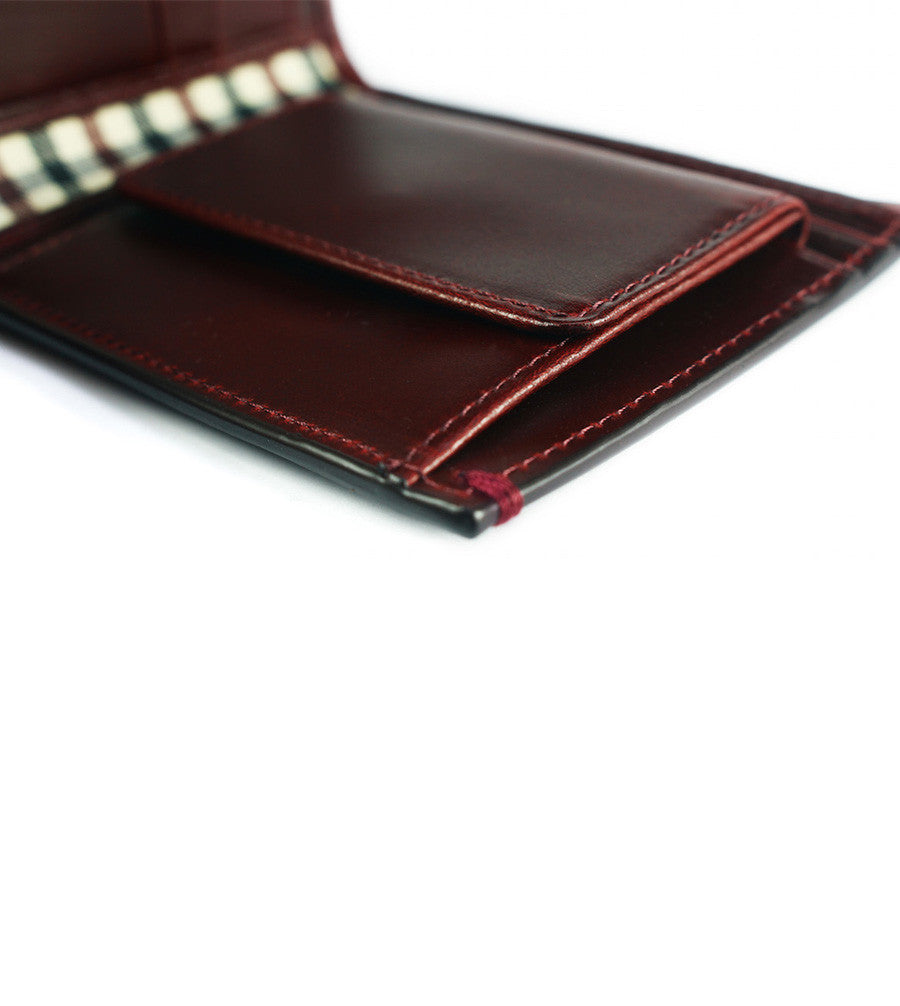 Linden Coin Billfold Oxblood