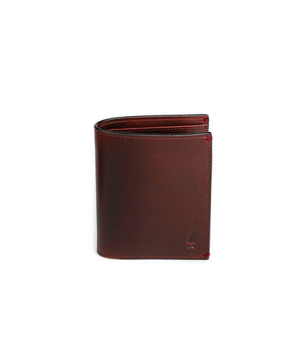 Gnome & Bow Pine Card Wallet Oxblood - Men's Online Shopping in Singapore | The Assembly Store - 1