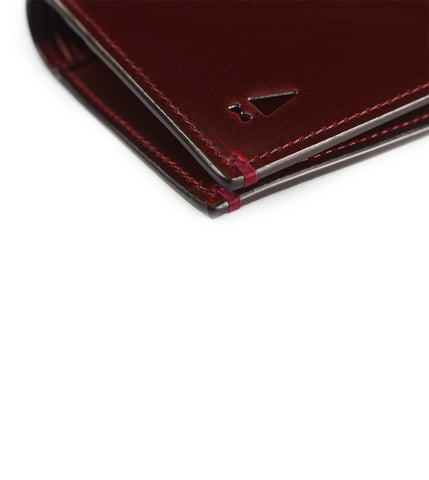 Gnome & Bow Pine Card Wallet Oxblood - Men's Online Shopping in Singapore | The Assembly Store - 3