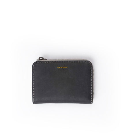 Rawrow R Wallet 120 Wax Leather Black - Men's Online Shopping in Singapore | The Assembly Store - 1