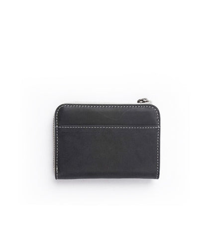 Rawrow R Wallet 120 Wax Leather Black - Men's Online Shopping in Singapore | The Assembly Store - 2