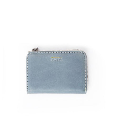 Rawrow R Wallet 120 Wax Leather Blue - Men's Online Shopping in Singapore | The Assembly Store - 1