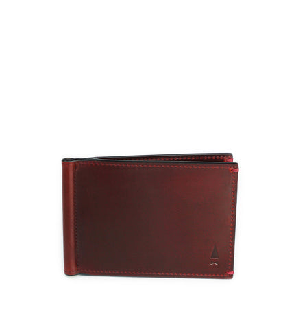 Gnome & Bow Regal Money Clip Billfold Oxblood - Men's Online Shopping in Singapore | The Assembly Store - 1