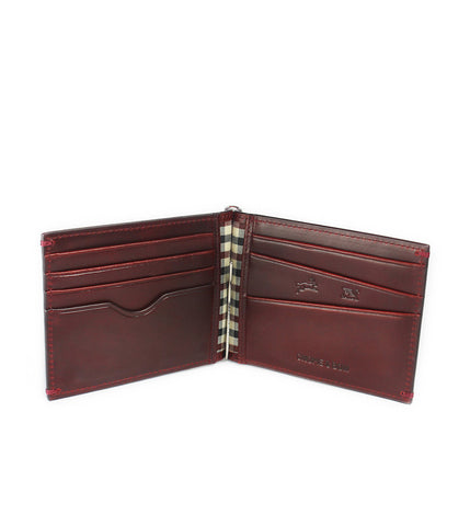 Gnome & Bow Regal Money Clip Billfold Oxblood - Men's Online Shopping in Singapore | The Assembly Store - 2
