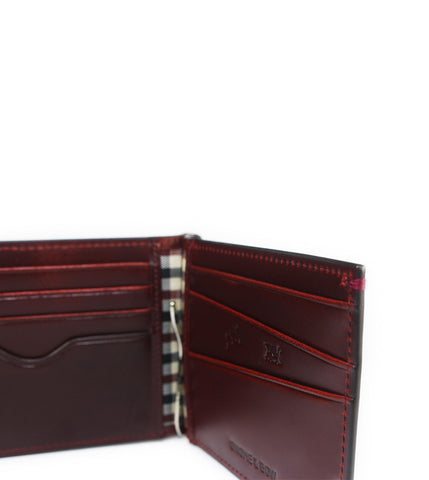Gnome & Bow Regal Money Clip Billfold Oxblood - Men's Online Shopping in Singapore | The Assembly Store - 3