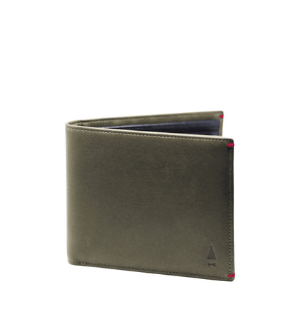 Gnome & Bow Regent Coin Billfold Jungle Green - Men's Online Shopping in Singapore | The Assembly Store - 1
