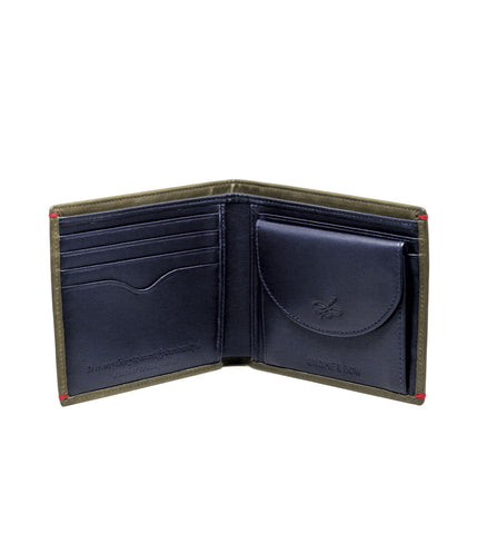 Gnome & Bow Regent Coin Billfold Jungle Green - Men's Online Shopping in Singapore | The Assembly Store - 3