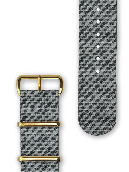 Hypergrand Ashwood Nato Strap Gold Buckle - Men's Online Shopping in Singapore | The Assembly Store