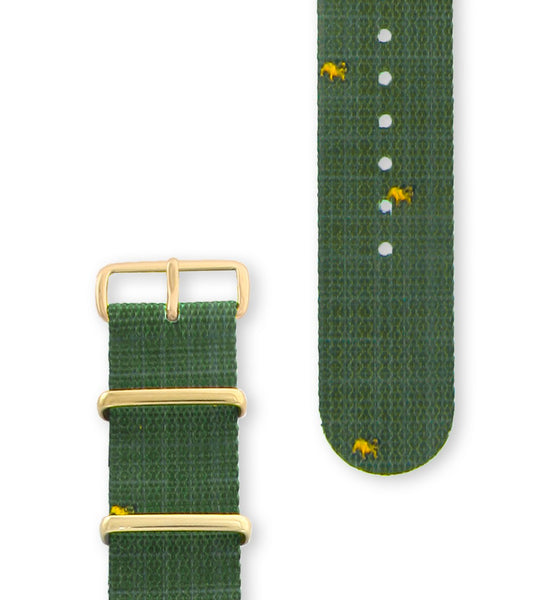 Hypergrand Bruiser Strap Gold Buckle - Men's Online Shopping in Singapore | The Assembly Store