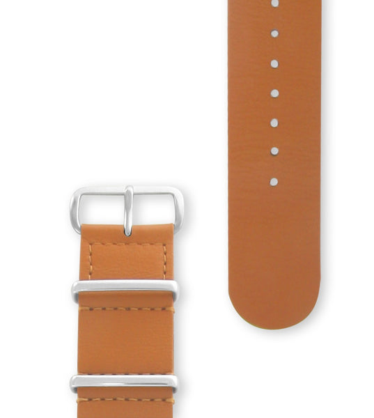 Hypergrand Honey Brown Strap Silver Buckle - Men's Online Shopping in Singapore | The Assembly Store