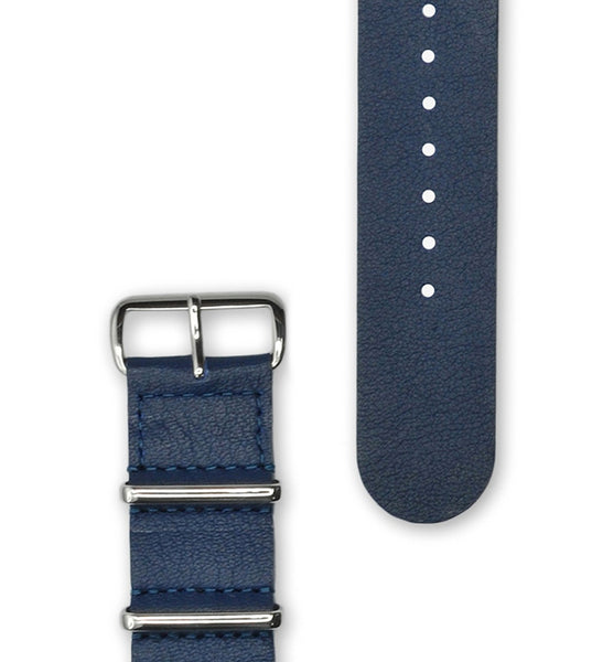 Hypergrand Nautical Blue Strap Silver Buckle - Men's Online Shopping in Singapore | The Assembly Store