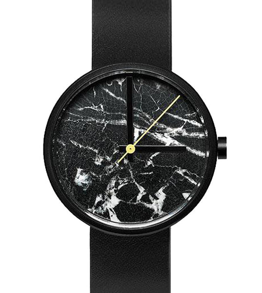 Aark Daniel Emma Black Marble Watch - Men's Online Shopping in Singapore | The Assembly Store - 1