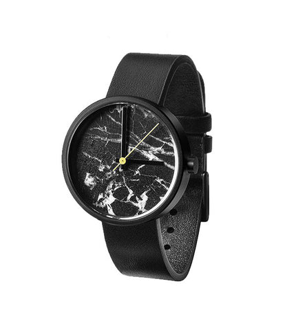 Aark Daniel Emma Black Marble Watch - Men's Online Shopping in Singapore | The Assembly Store - 2