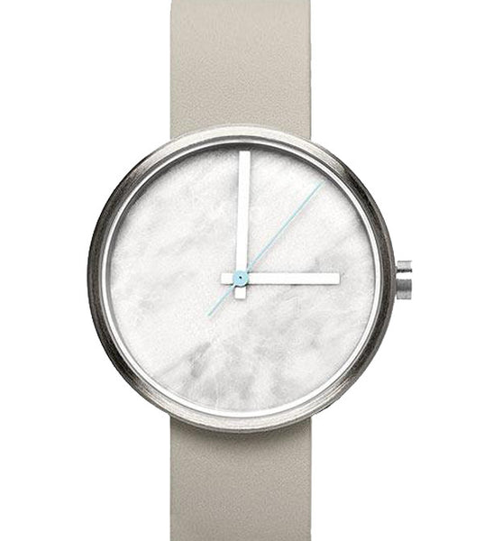 Aark Daniel Emma White Marble Watch - Men's Online Shopping in Singapore | The Assembly Store - 1
