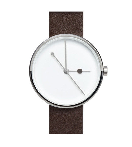 Aark Eclipse Silver Watch - Men's Online Shopping in Singapore | The Assembly Store - 1