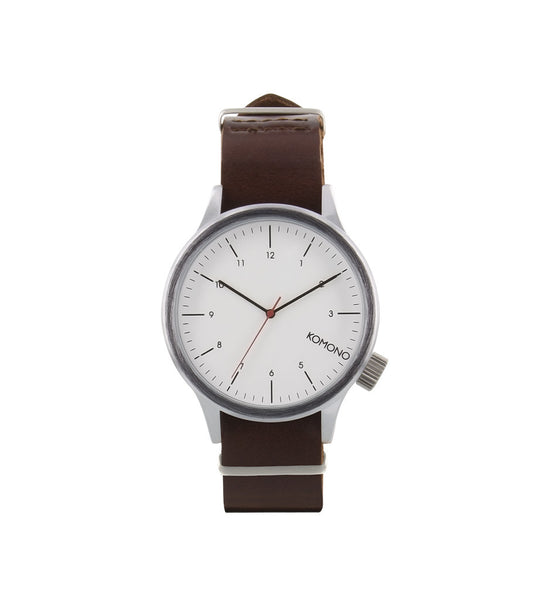 Komono Magnus Silver Burgundy - Men's Online Shopping in Singapore | The Assembly Store - 1