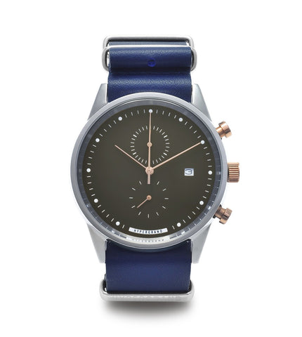 Hypergrand Maverick Chrono Duotone Nautical Blue - Men's Online Shopping in Singapore | The Assembly Store - 1