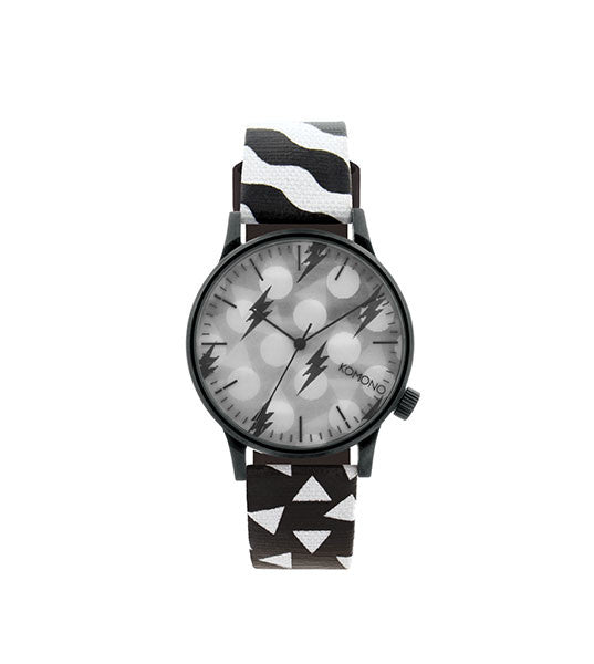 Komono Winston Black and White - Men's Online Shopping in Singapore | The Assembly Store - 1