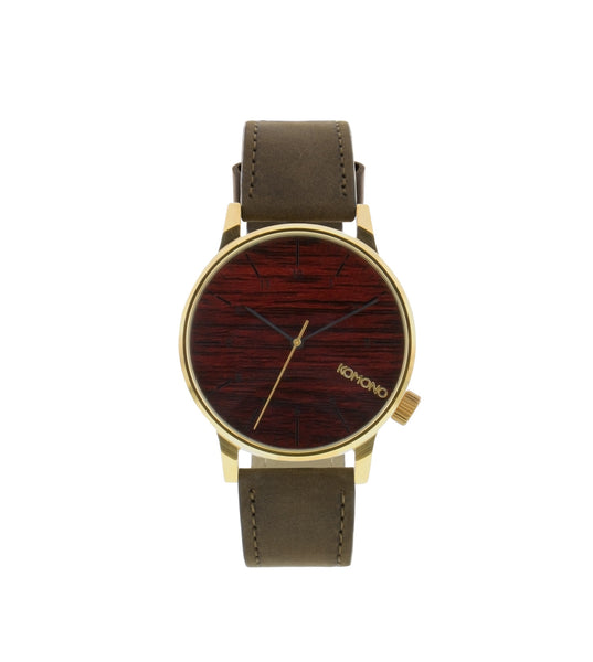Komono Winston Gold Wood - Men's Online Shopping in Singapore | The Assembly Store - 1