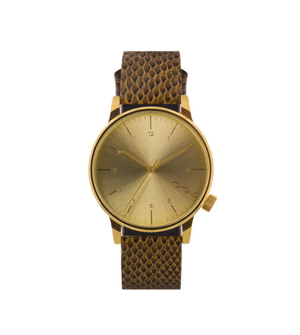 Komono Winston Monte Carlo Brown Lizzard - Men's Online Shopping in Singapore | The Assembly Store - 1