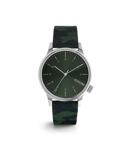 Komono Winston Camo Green - Men's Online Shopping in Singapore | The Assembly Store - 1