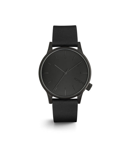 Komono Winston Regal All Black - Men's Online Shopping in Singapore | The Assembly Store - 1