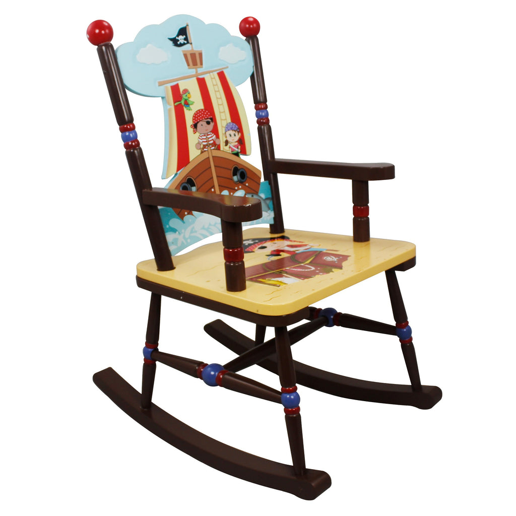 Pirate Bedroom Furniture Fantasy Fields By Teamson Pirates Island Rocking Chair My Time Toys