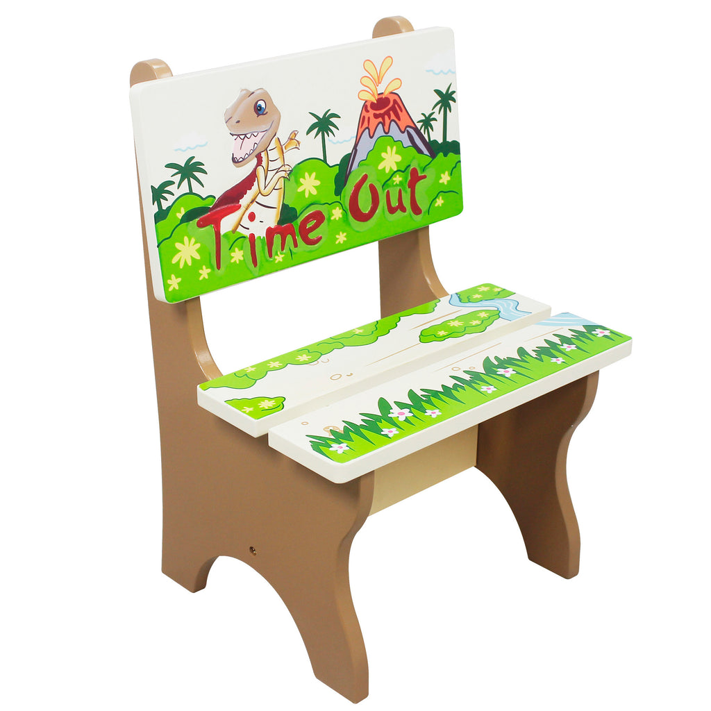 Fantasy Fields by Teamson Dinosaur Kingdom Time Out Chair – Our ...