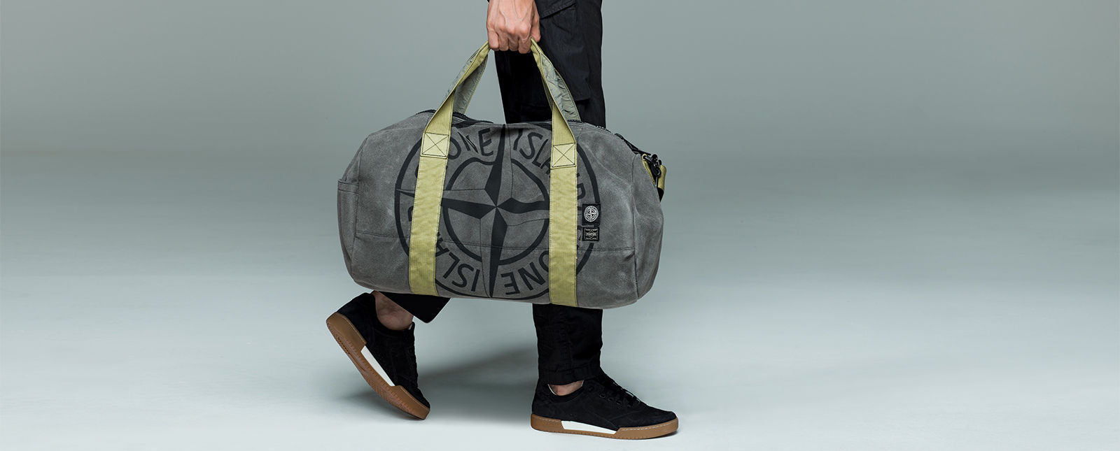 STONE ISLAND / PORTER® CO-LAB_MAN MADE SUEDE