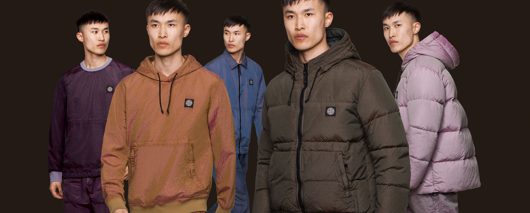 Stone Island AW'020 Poly-Colour