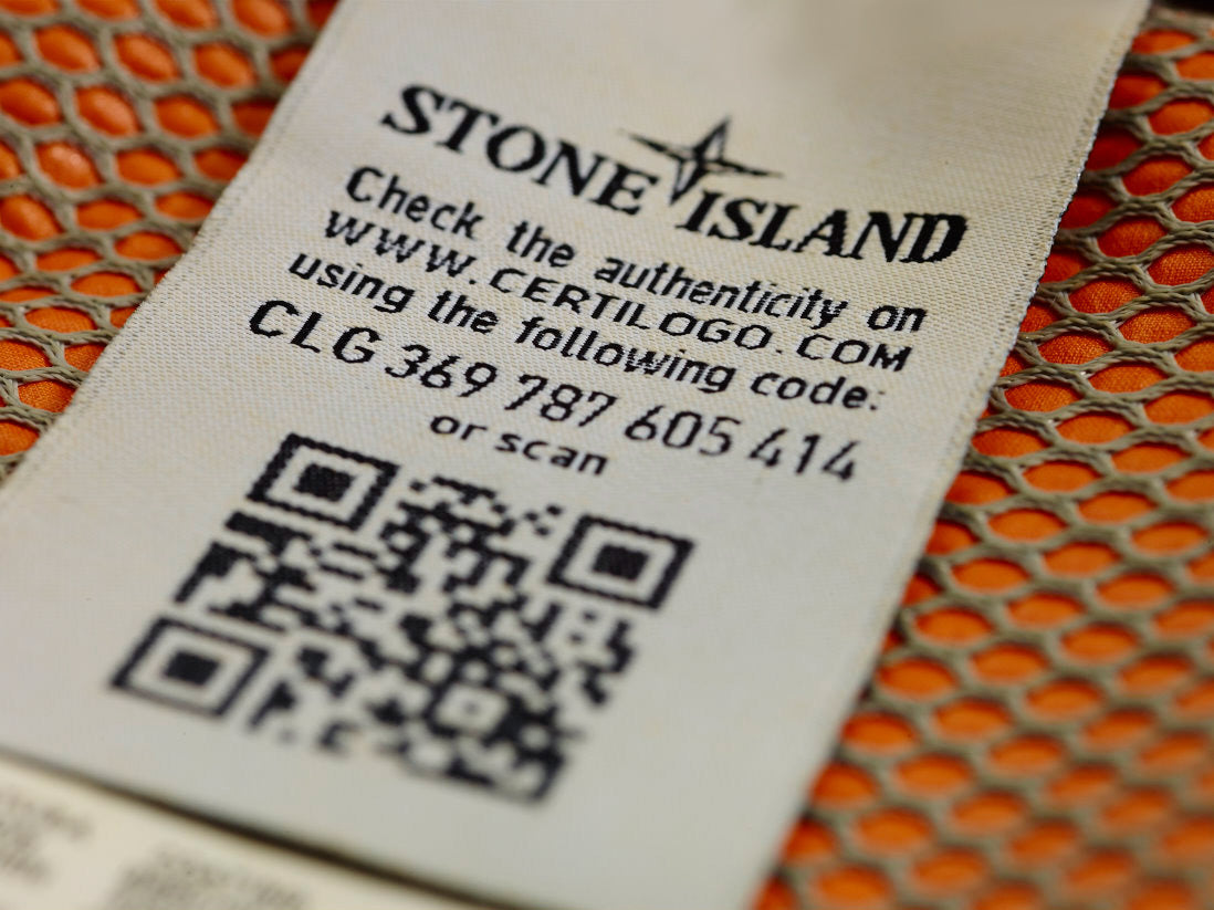 c403a48496b Stone Island has launched a garment authentication service. Since the  Spring Summer 2014 collection Stone Island has used Certilogo® technology  and ...
