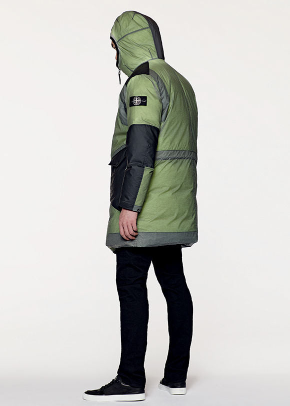 2e89707b Stone Island UK | Ice Jacket Resin-T Shell Down