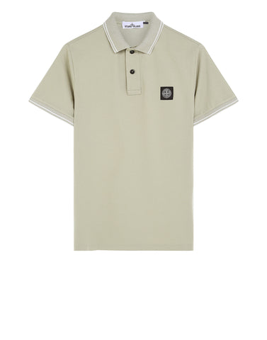 22S18 Patch Program Polo Shirt in Beige